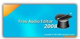Программа нарезки музыки Free Audio Editor